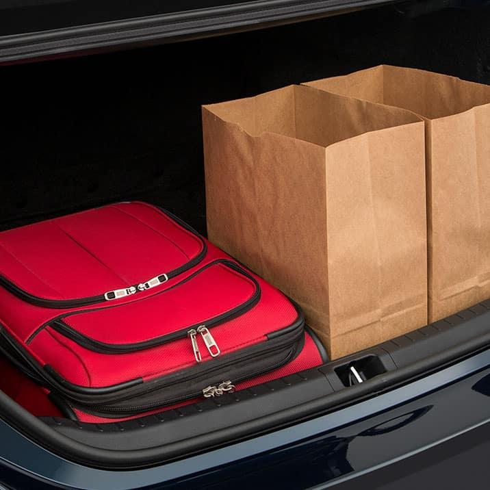 Corolla Interior Trunk Space
