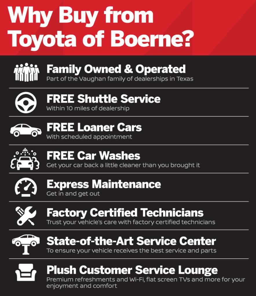Why Buy from Toyota of Boerne