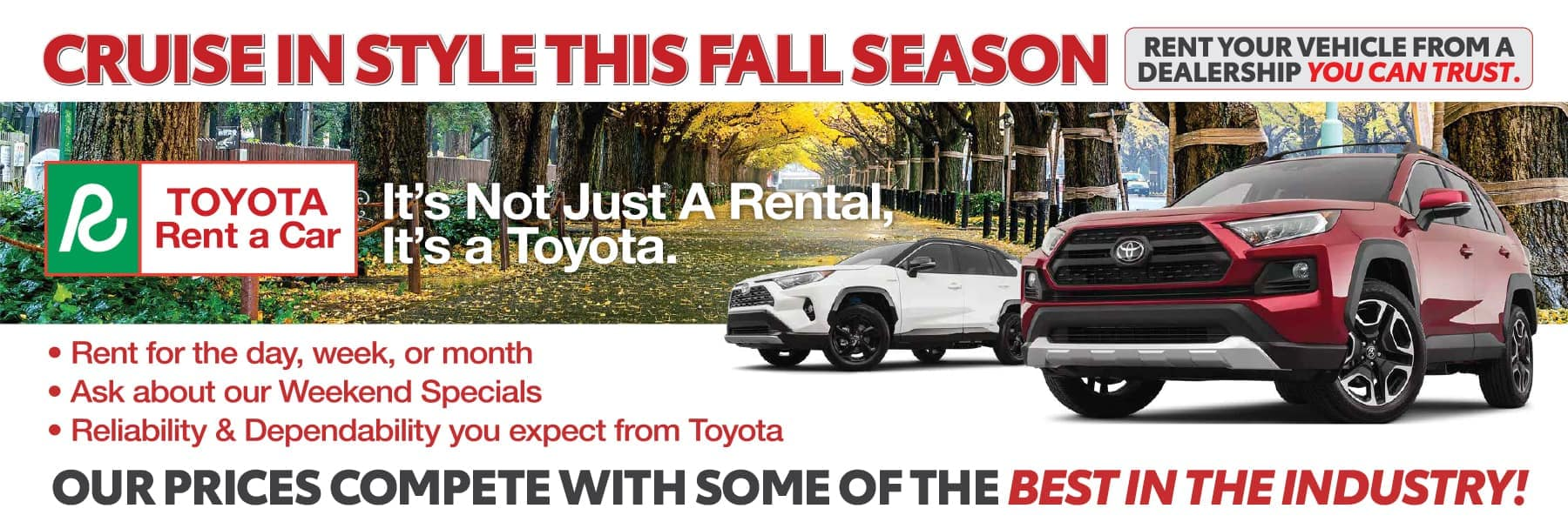 Rent a Toyota in Boerne, TX