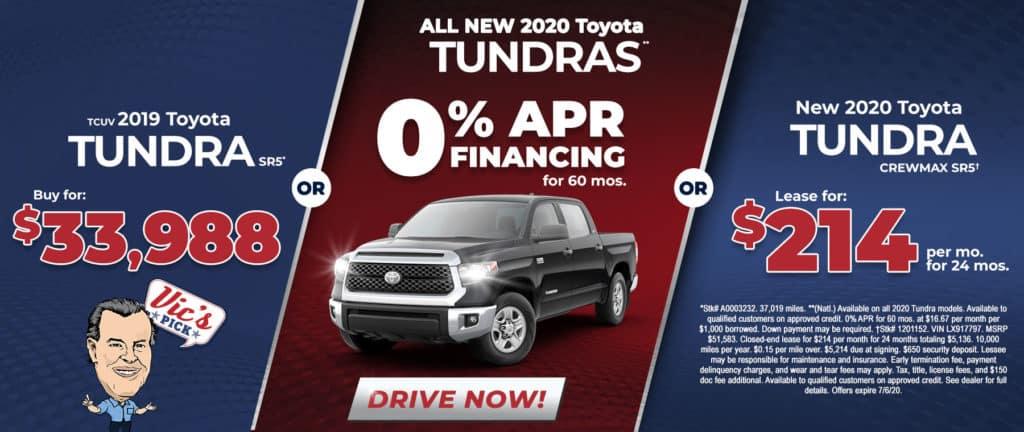 Toyota Tundras