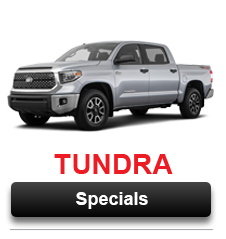 View Our Tundra Special Offers Going on Now