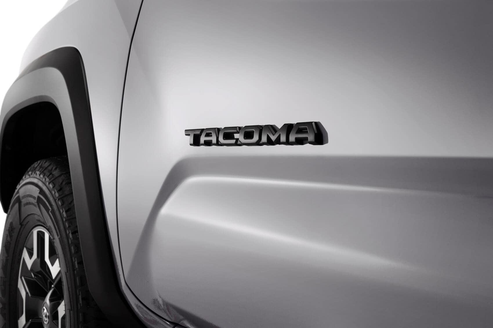 Toyota Tacoma Blackout Emblem