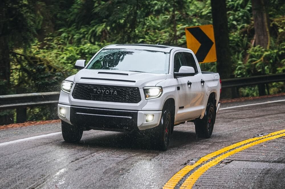 2020 Toyota Tundra Driving