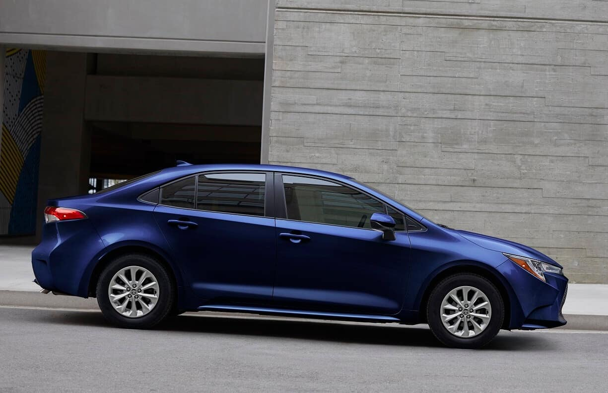 2020 Toyota Corolla Engine MPG