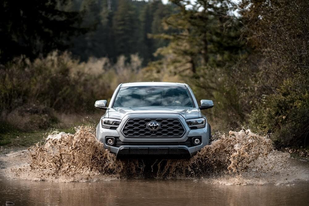 2020 Toyota Tacoma Off-Roading