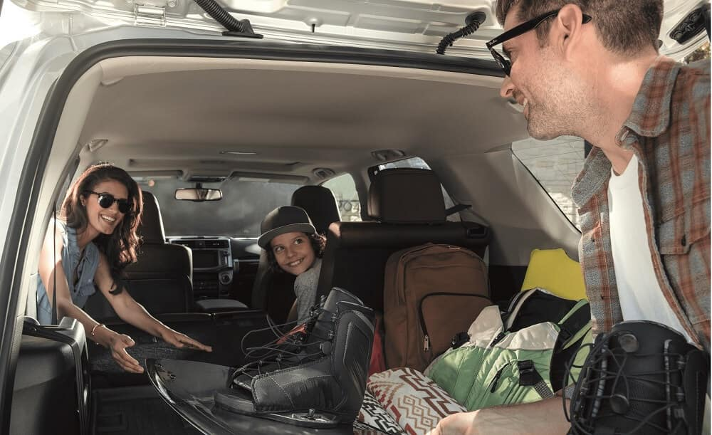 Packing Toyota 4Runner Cargo Area