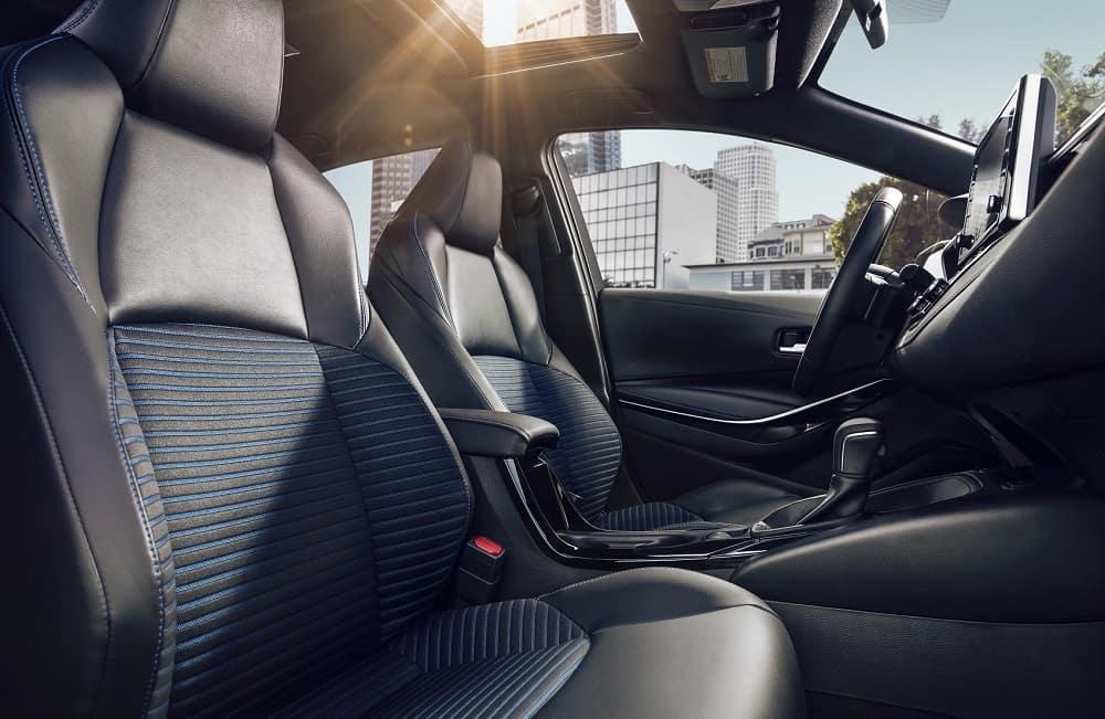 2020 Toyota Corolla Interior Space