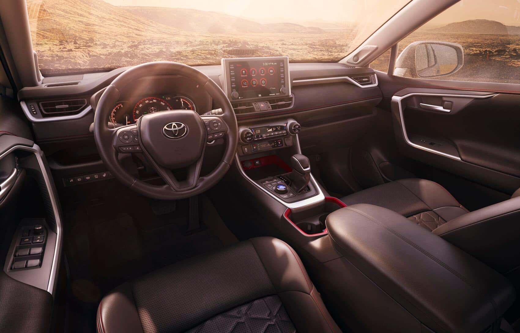 Toyota RAV4 Interior Style