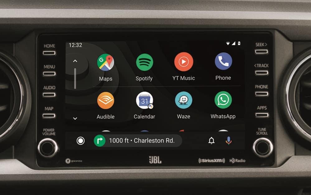 2020 Toyota Tacoma Interior Android Auto™ Technology