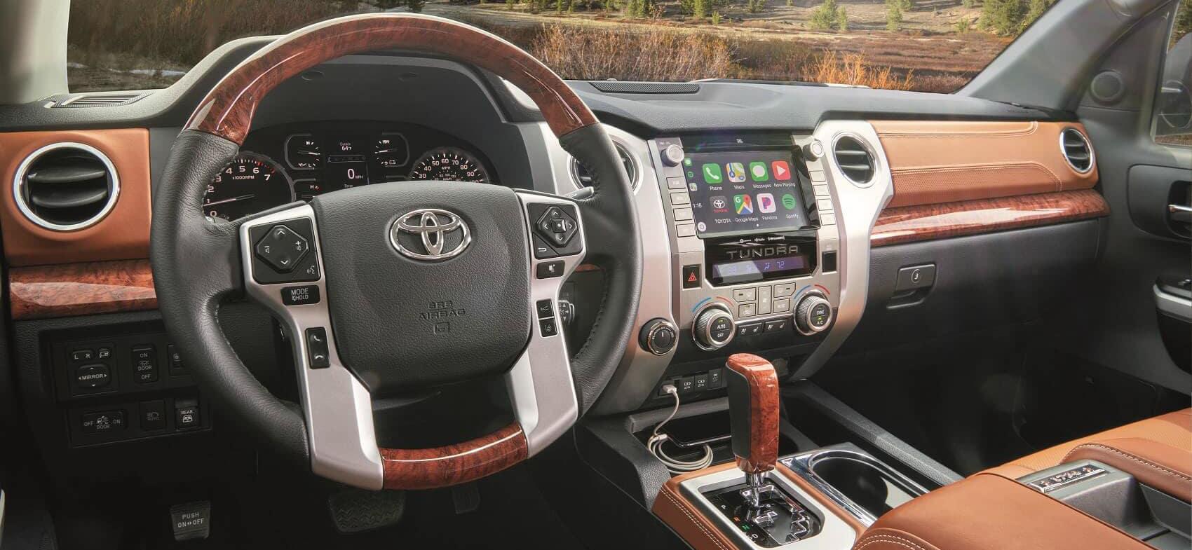 2020 Toyota Tundra Interior Apple CarPlay® Technology