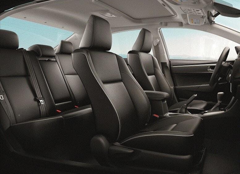 Toyota Corolla Interior Space