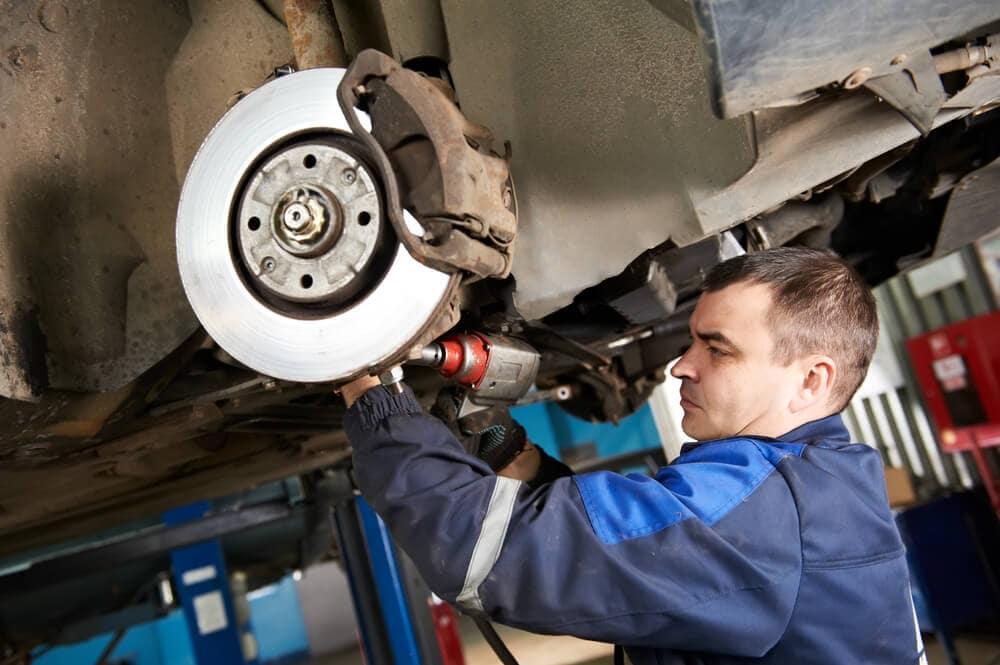 Brake Repair at Service Center