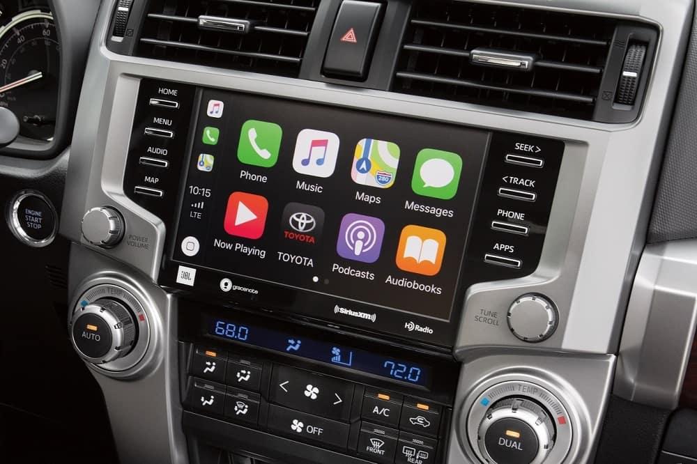 2020 Toyota 4Runner Interior Apple CarPlay®