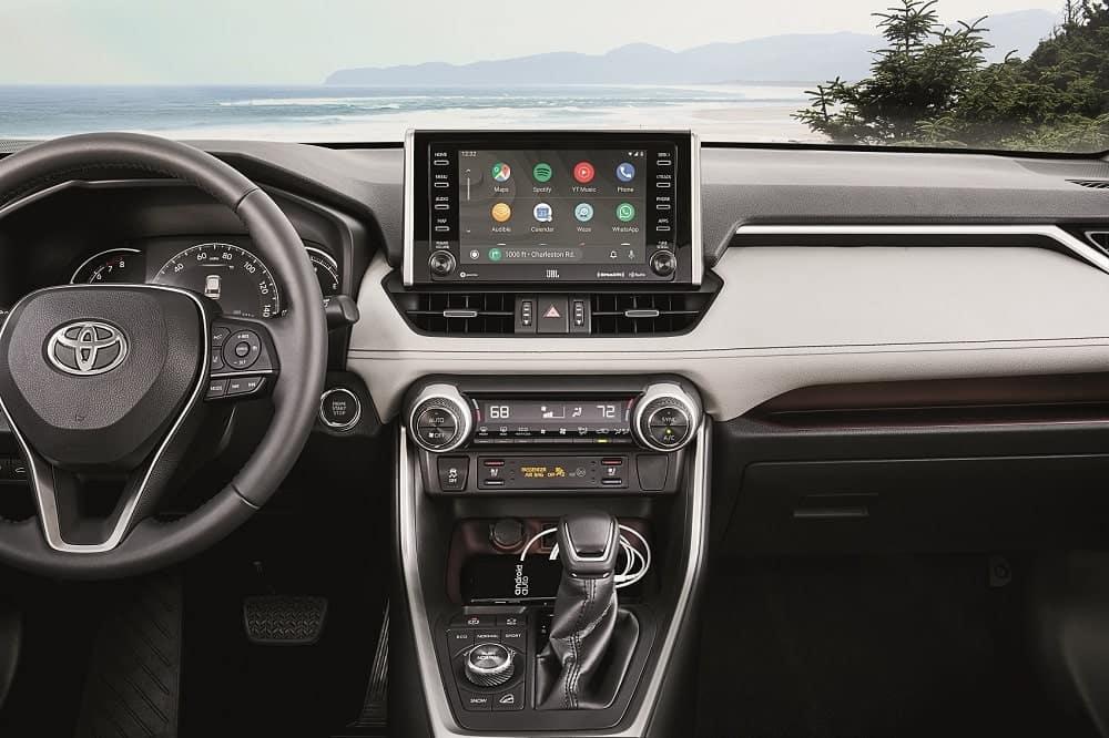 2020 Toyota RAV4 Interior Android Auto™