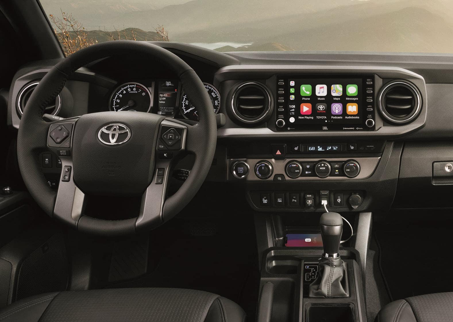 2020 Toyota Tacoma Interior with Apple CarPlay® Technology