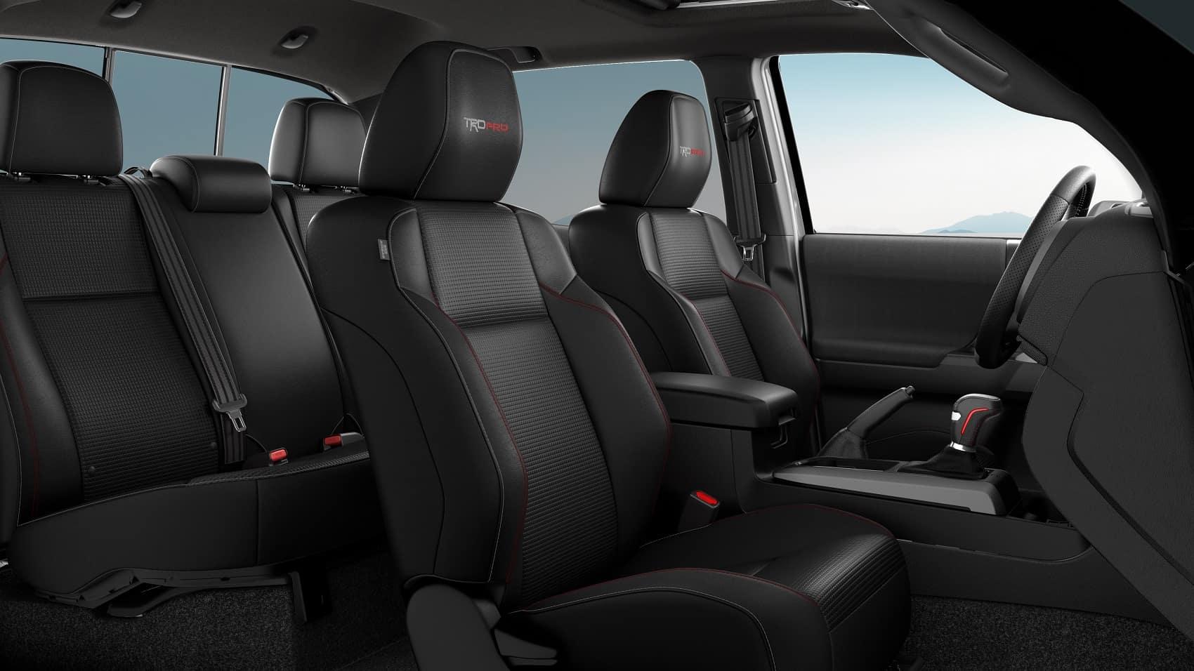 2020 Toyota Tacoma Interior Dimensions
