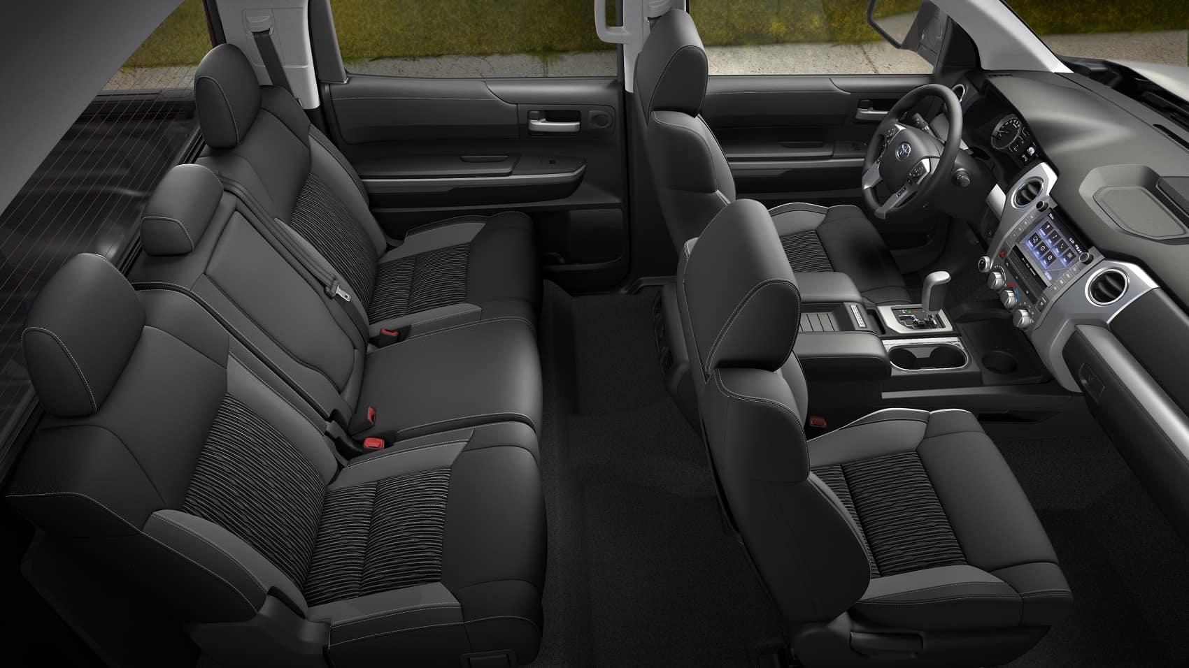 2020 Toyota Tundra Interior Space