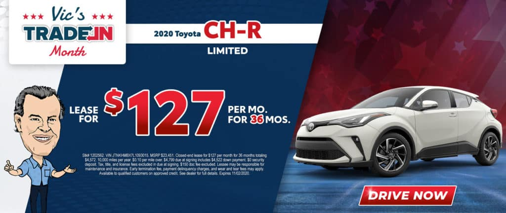New 2020 Toyota C-HR Limited 4D Sport Utility FWD