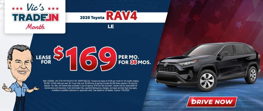 New 2020 Toyota RAV4 LE 4D Sport Utility FWD
