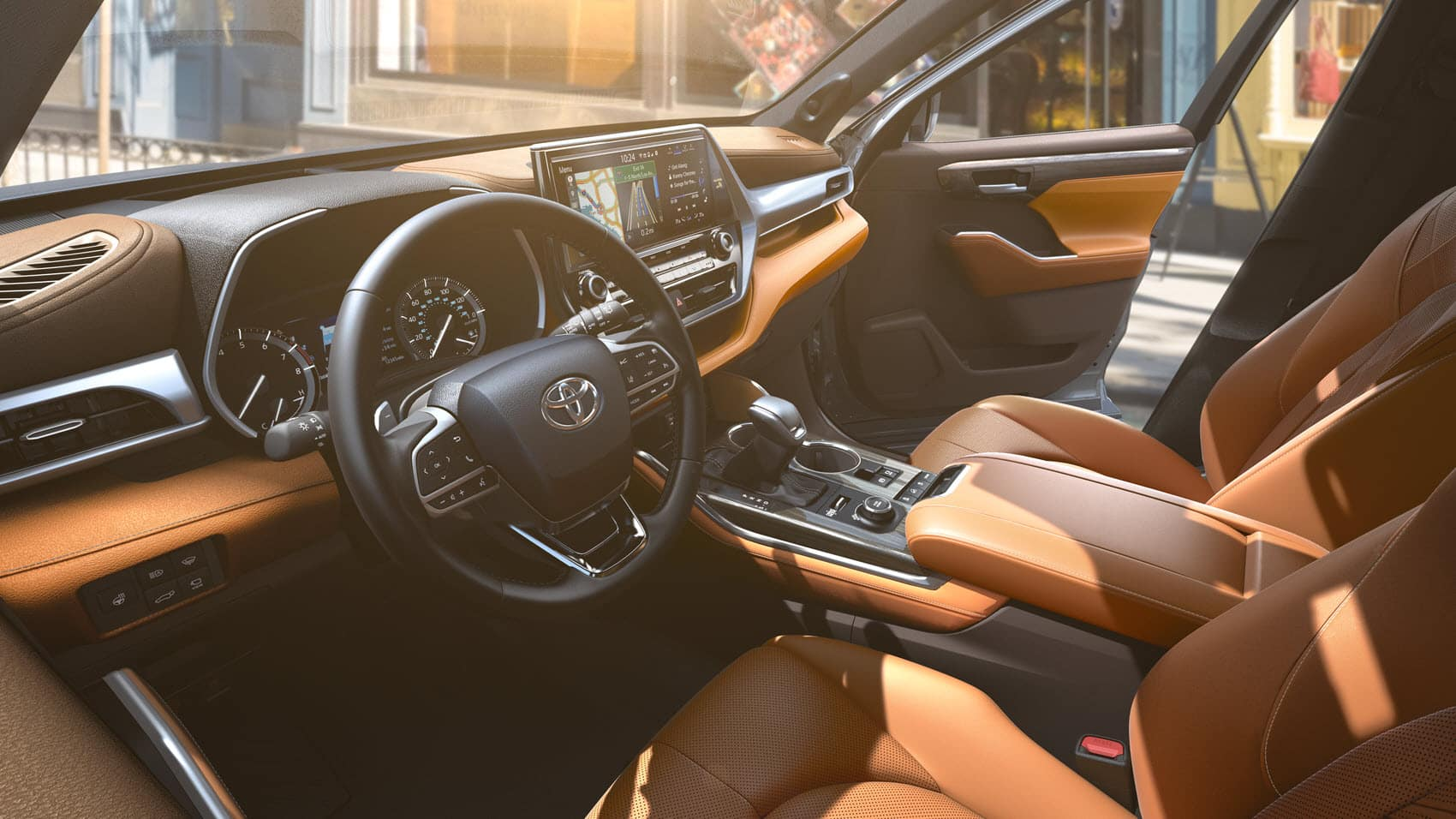 Toyota Highlander Interior