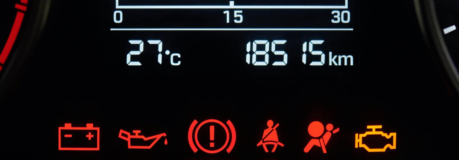 Toyota Corolla Dashboard Lights