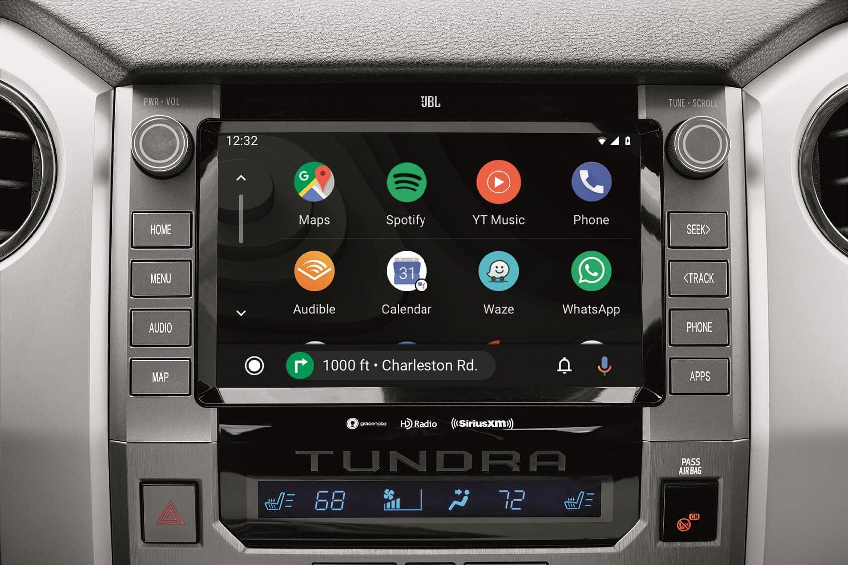 Toyota Tundra Interior Technology