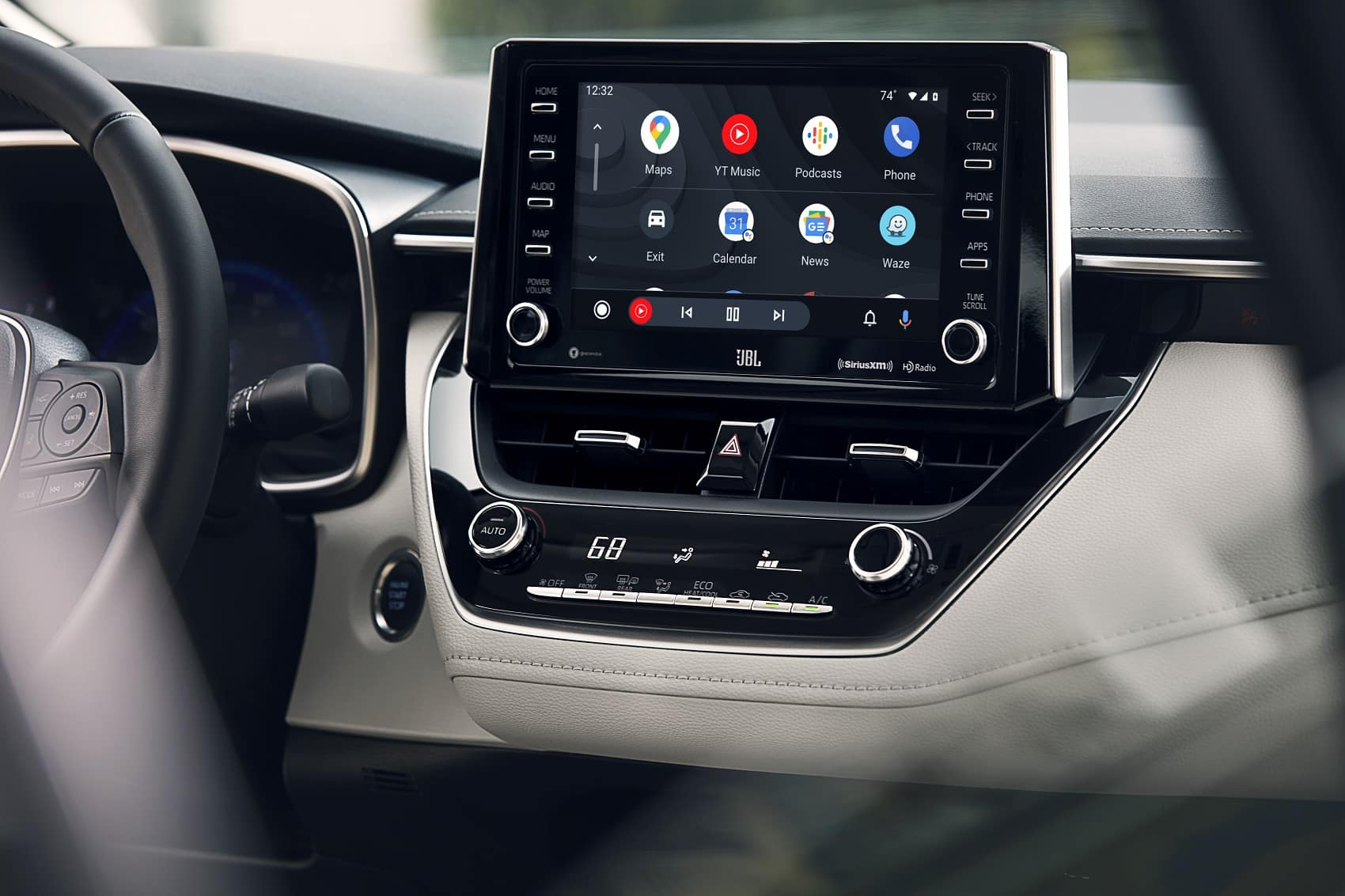 2021 Toyota Corolla Interior with Android Auto™ Technology