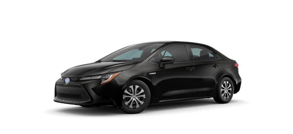 Toyota Corolla Hybrid LE Black
