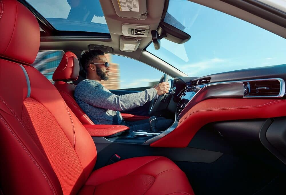 Driving a Toyota Camry