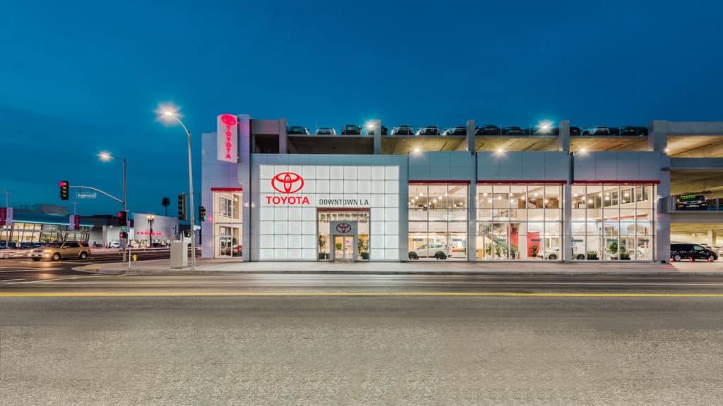 Prius Oil Change >> Dealership Photos | Toyota of Downtown LA
