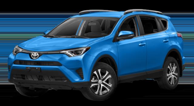 2018 Toyota RAV4 Blue
