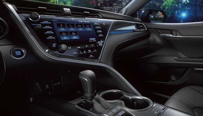 2019 Toyota Camry Interior Technology