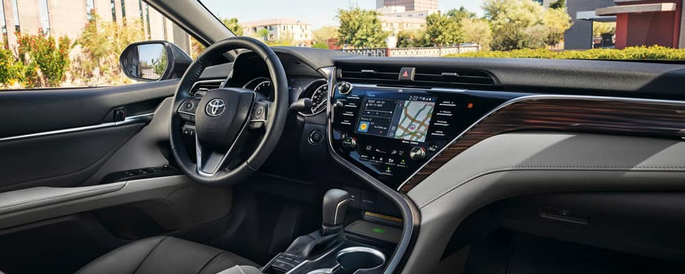 2019 Toyota Camry Interior Features Specs Toyota Of Downtown La