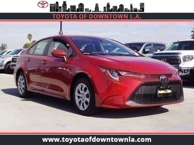 New 2020 Toyota Corolla LE 2WD Car