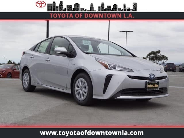 NEW 2019 TOYOTA PRIUS LE FWD HATCHBACK