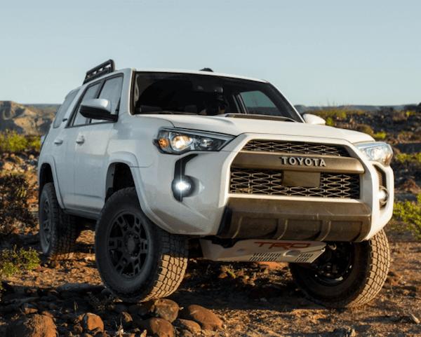 2020 Toyota 4Runner lineup image