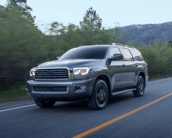 2020 Toyota Sequoia lineup image