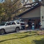 white 2020 Toyota 4Runner in driveway