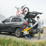 2020 Toyota RAV4 towing and cargo banner