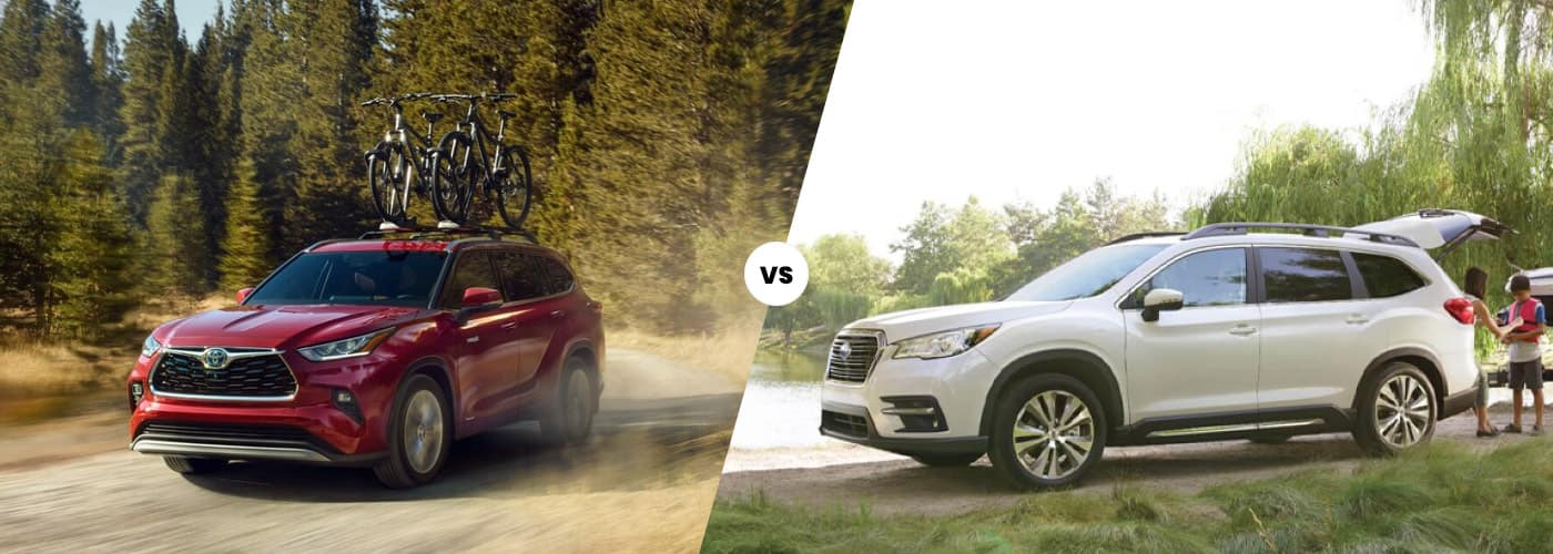 2020 Toyota Highlander vs Subaru Ascent comparison