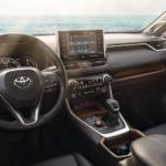 2021 Toyota RAV4 Interior Dashboard Banner