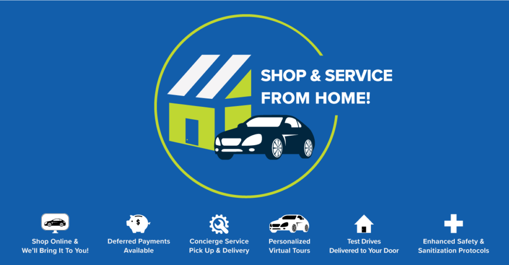 Shop & Service From Home!
