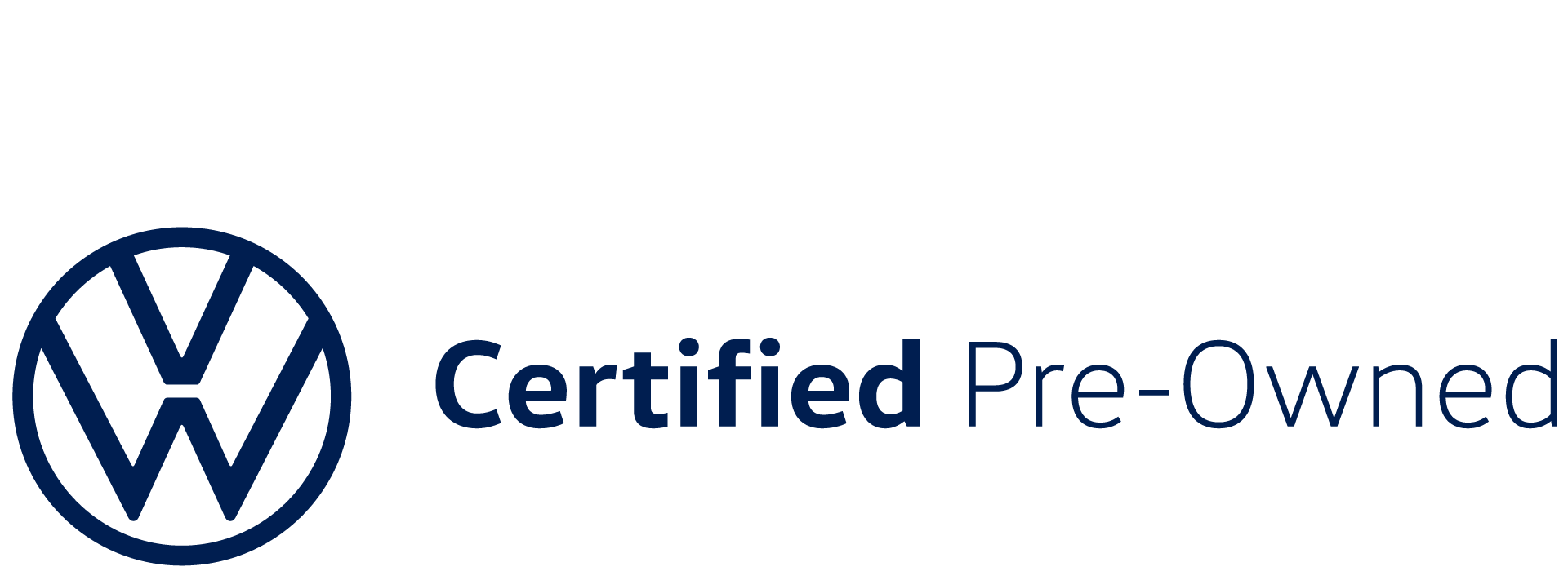 Certified Pre-owned Volkswagen