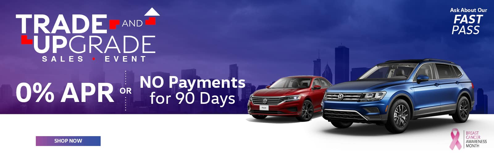 0% APR or No Payment for 90 Days