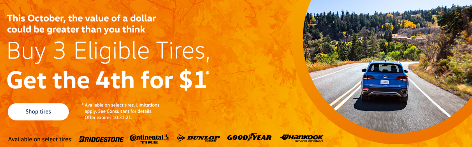 VW fall tire special
