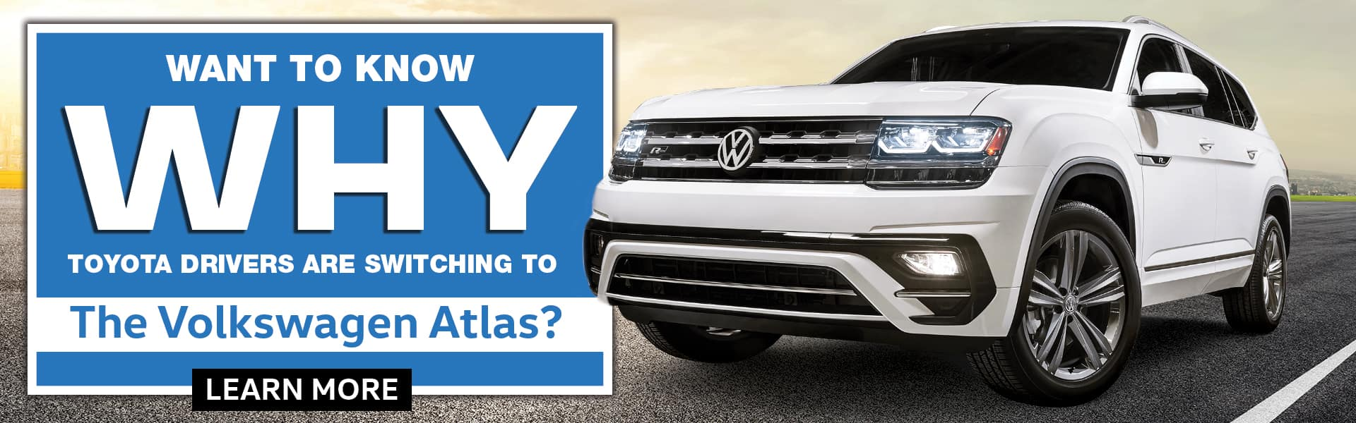 Want To Know Why Toyota Drivers Are Switching To The Volkswagen Atlas?