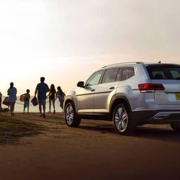 2019 Volkswagen Atlas at a beach