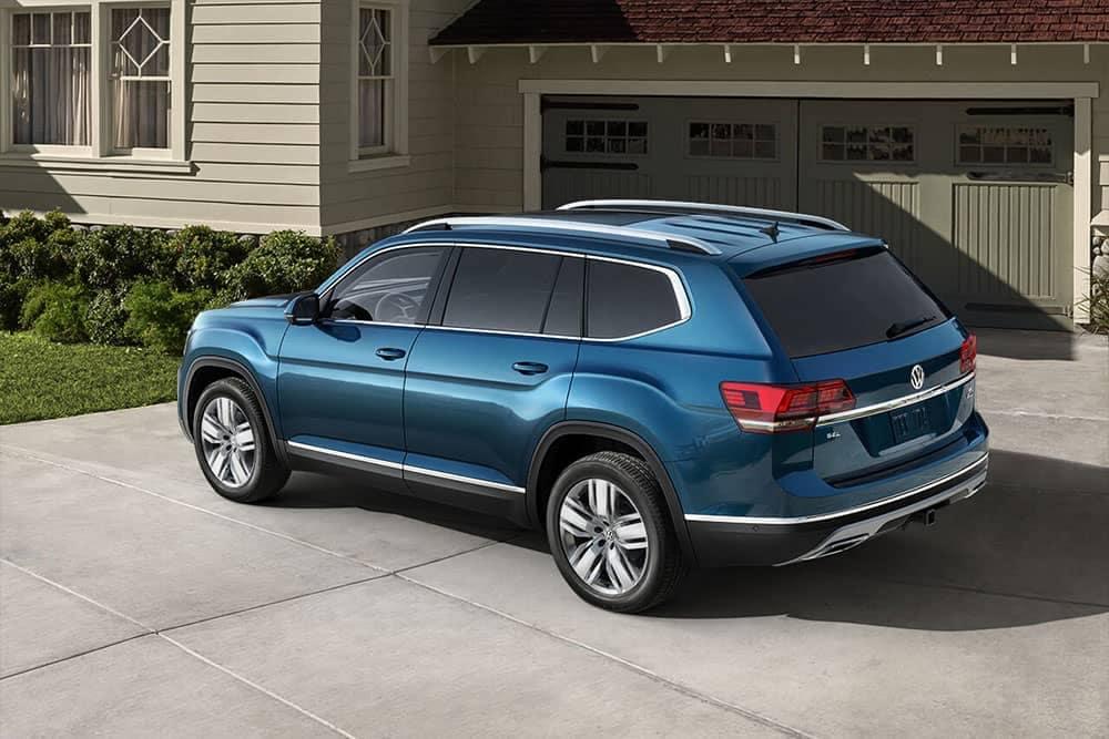 Blue 2019 Volkswagen Atlas