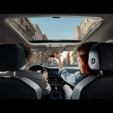 2019 Volkswagen Jetta panoramic sunroof