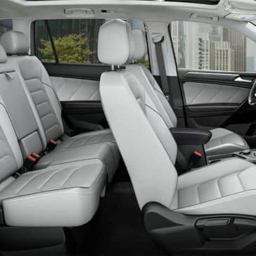 2019 Volkswagen Tiguan interior seating